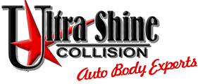 Ultra Shine Collision Logo