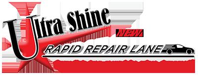 Ultra Shine Collision Logo